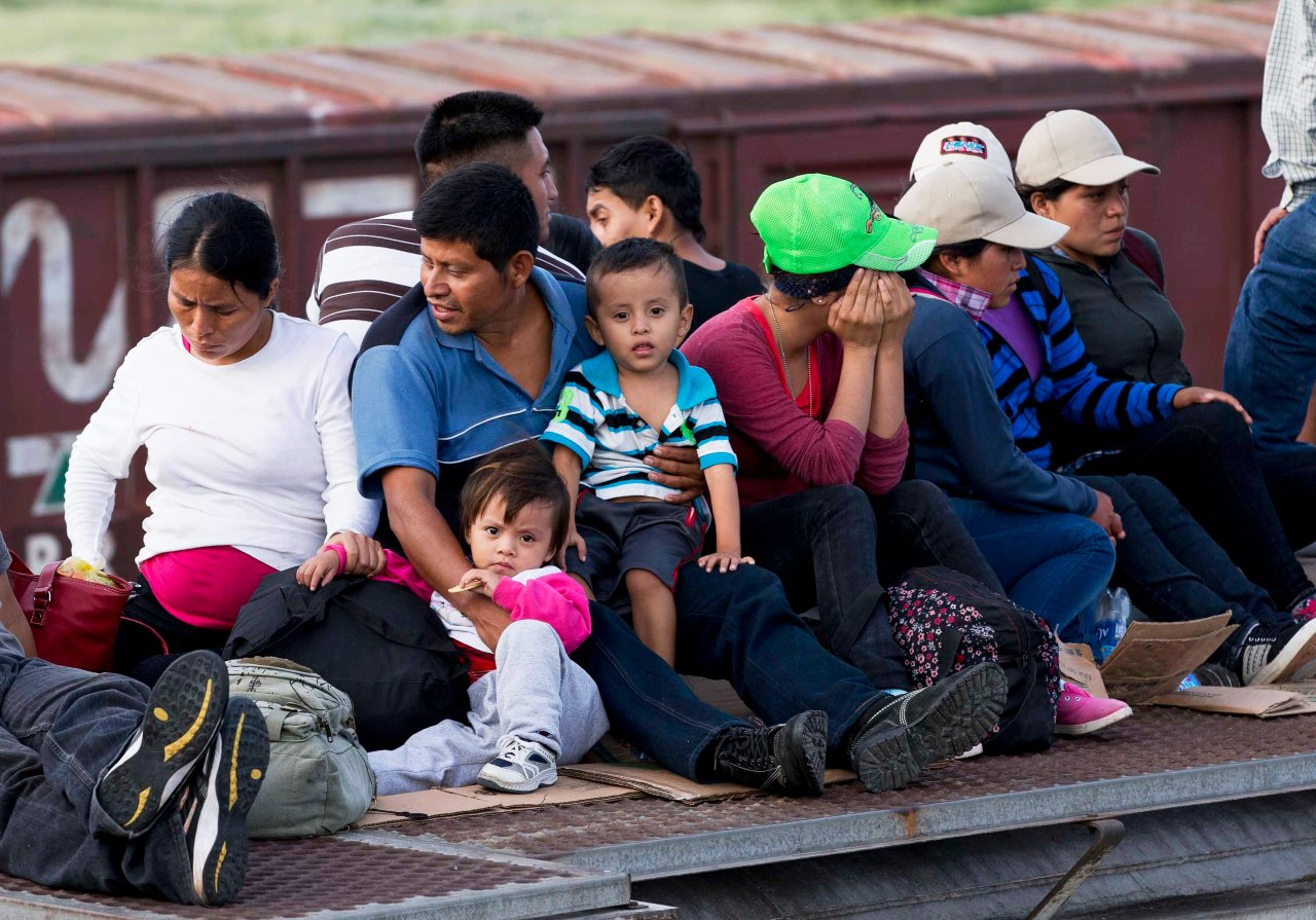Los niños migrantes corren riesgo de crecer en ambientes inseguros. - Foto Eduardo Verdugo/AP
