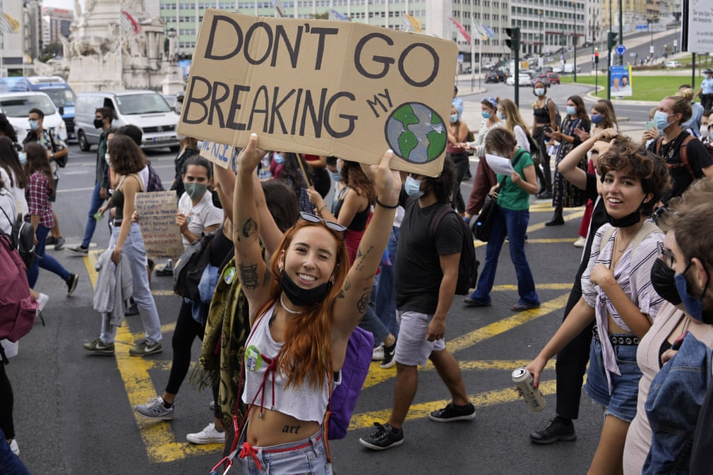 Huelga por el clima en Portugal - Foto Armando Franca/AP