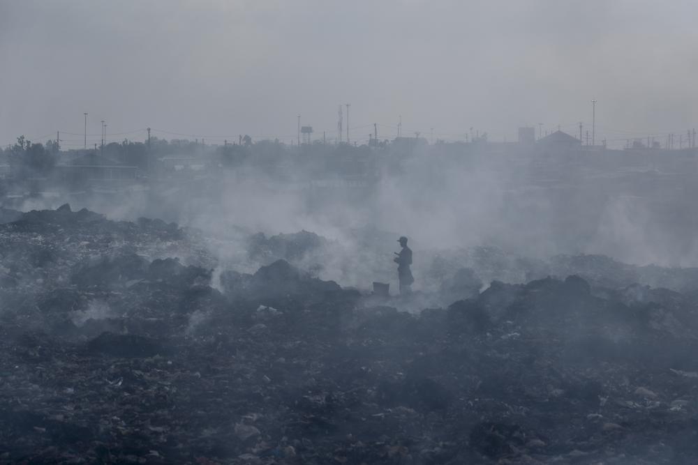 Muchos problemas respiratorios provienen de la contaminación del aire. - Foto Brian Inganga/AP