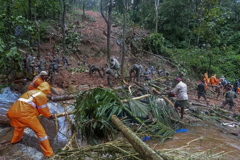 Inundaciones en el Sur de India dejan más de 20 muertos