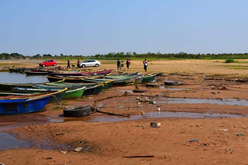 Paraguay se encuentra en una crisis de sequía histórica