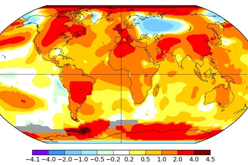 La temperatura del planeta ha aumentado más en los últimos años.